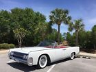 1962+Lincoln+Continental+convertible