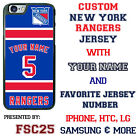 New York Rangers Hockey Jersey phone Case Cover for iPhone 6 6 PLUS 5 5s 5c 4s