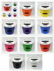 Pack of 15 New Charity Street Collecting Buckets Fundraising Donation 10 Colours