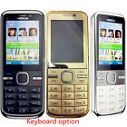 Original Nokia C5-00 Unlocked Dual Camera English Hebrew Keyboard cellphone