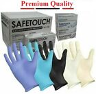 Disposable Latex, Black Nitrile or Blue Vinyl Gloves Powder Free - 100 Boxed <br/> Premium Quality,  FAST DELIVERY