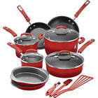 Rachael Ray 15 Piece Hard Enamel Nonstick Cookware Set