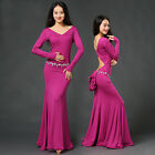 Oriental Dance Belly Dance Costume Suits Club Stage One-piece Long Skirt Dress