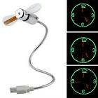 Flexible Mini USB LED Programmable/Time Fan for Tablet PC Laptop Desktop