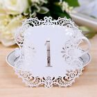 Number 1-20 White Cut Table Number Card Wedding Birthday Party Decoration