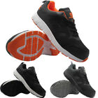 NEW MENS STEEL TOE CAP SAFETY WORK TRAINERS MESH UPPER LIGHT-WEIGHT SHOES BOOT