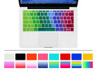 """EU Silicone Keyboard Cover Skin Protector For New Mac Pro 13 A1708 and 12"""" A1534"""
