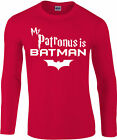 My Patronus Is A Batman Longsleeve T-Shirt, Harry Potter wizard, Gift Top