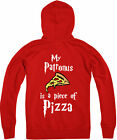 My Patronus Is a Pizza Zipped Hoodie, Harry Potter wizard, Gift Top