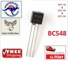 10 / 20 / 50 Pcs BC548 Transistor 0.1A 30V NPN Transistor TO-92 AU STOCK [A5S]