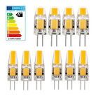 10x G4 5W 6W EPISTAR AC DC 12V Dimmable LED COB Bulb Light Replace Halogen Lamp
