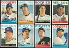 2013 Topps Heritage High Number Complete Team Set 16 Available Rookie RC No SP