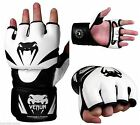 Venum Attack MMA Gloves UFC Training Black White
