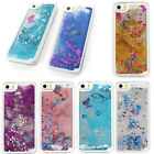 NEW DYNAMIC LIQUID BUTTERFLY GLITTER HEARTS STARS CASE FOR IPHONE 5 5C SE 6 6S