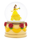 DISNEY PARKS BEATUY AND THE BEAST PRINCESS BELLE GLASS SNOW GLOBE NEW IN BOX