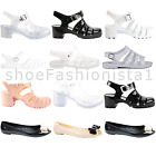 WOMENS LADIES TOE BOW JELLY SUMMER FLAT FLIP FLOP THONG SANDALS SHOES SIZE