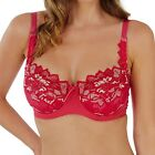 Lepel Fiore Full Cup Bra Raspberry / Gold Various Sizes