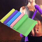 1.5m Elastic Yoga Stretch Resistance Exercise Fitness Band Theraband Strap Belt image