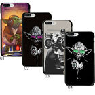 Star Wars Cool DJ Master Yoda Darth Vader Case Cover For Apple iphone 6S 7 Plus $6.39 AUD