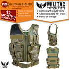 Militac Tactical vest / Combat assault vest / Army molle vest /Webbing chest rig