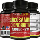 Glucosamine Chondroitin MSM + Turmeric, Boswellia - Joint Pain Relief Supplement