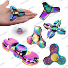 3D Colorful EDC Fidget Hand Spinner Anti-stress Fingertip Gyro Autism ADHD Toys