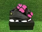 NEW AIR JORDAN 13 XIII RETRO GG GS YOUTH SHOES BLACK ANTHRACITE PINK 439358-009