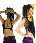 Fairy Top Pixie top Vest top backless PsyTrance style dance Yoga Girls Camisole