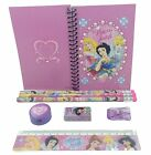 School Supplies Pencils, Ruler, Eraser, Notebook, Sharpener Stationary Set