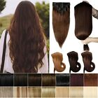 Thick AAAAA Double Weft Clip In 100% Remy Human Hair Extensions Full Head H212