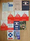 Rosslyn Park Rugby Union Programmes 1954 - 1995