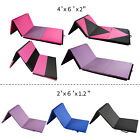 Heavy Duty  New Folding Panel Gymnastics Mat Gym Exercise Yoga Tri Mat Pad  image