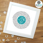 Ellie Goulding How Long Will I Love You - Personalised Print VINYL RECORD gift