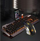 Technology Mamba Suspended Keycap USB Wired Backlit Gaming Keyboard  Mouse Set