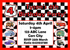 * LIGHTNING MCQUEEN DISNEY CARS PERSONALISED Birthday Party Decorations Supplies