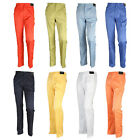 S/S Mens Spring Fashion Solid Golf Wear Outdoor Pants Pocket Trousers