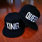 KING and QUEEN Snapback couple Pair Fashion Embroidered Snapback Caps Hats