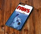 Jaws Paws Funny Quirky Phone Case For phone 4S 5 5S SE 5C 6 6S 7 8 X Plus Rubber