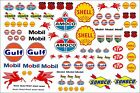 Waterslide Transfers 1:10 1:18 1:32 Scale RC Car Slotcar Scalextric Model Decals