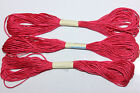 5 Skeins - 8 Meters Each of 100% Silk - 2ply, 6 Strand - Hand Embroidery Floss 1
