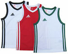 adidas Boys Sports Vest Y Commander J Basketball Jersey Athletic 5Y up to 16Y