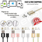 usb iphone connector - 3 in 1 Magnetic Phone or tablet Charger Cable w/ Data  Android iPhone USB-C - 3f