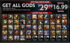 Smite Gems and God Pack - No Account Name or Password Recquired - PC Only фото