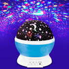 USB Rotating Projector Starry Night Lamp Star Sky Romantic Projection LED Light