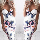New Women Summer Casual Bandage Bodycon Evening Party Cocktail Short Mini DressH