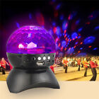 New Universal Portable Wireless Studio Bluetooth Crystal Color LED Light TF Card