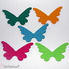 3 Pcs Felt Laser Cut Butterflies 13cm for Crafts and Decoration in Many Colors