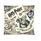17.7''/45cm Harry Potter Home Sofa Car Pillow Pad Case Back Cushion Cover Linen