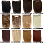"GRADE AAA One Piece 5Clips in 100% Remy Human Hair Extensions 18""22""24""26"" 90g"
