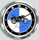 BMW R60/5 MOTORCYCLE WALL CLOCK METAL R60 choice of 4 colors